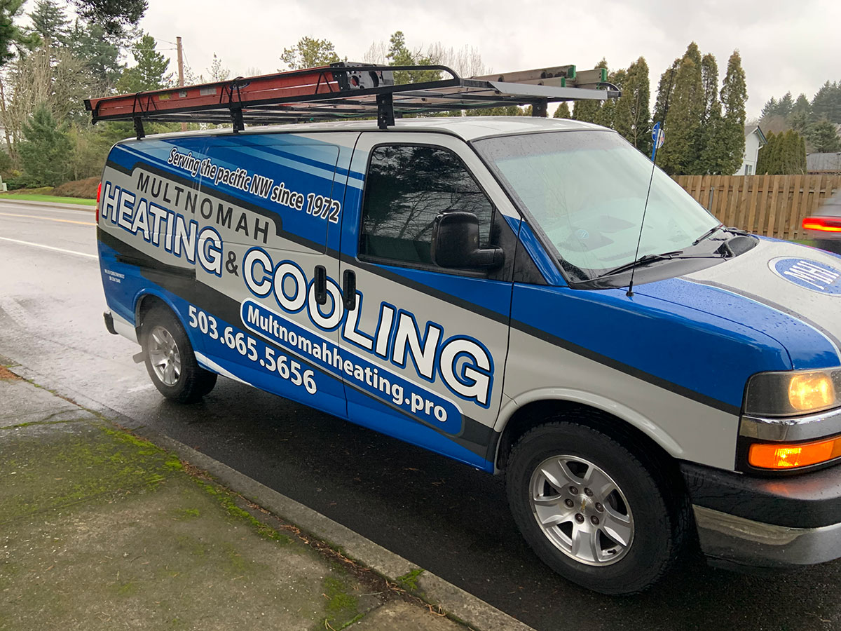 Multnomah Heating Inc - Heating and Cooling Contractors in Wood Village OR